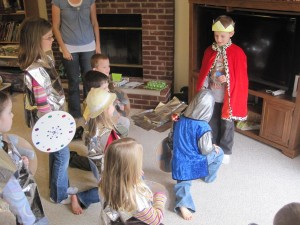 Princess and Knight Party Games