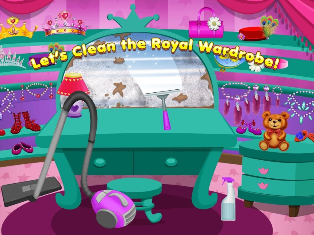 Princess Party Clean Up Games