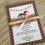 Princess Pony Party Invitations