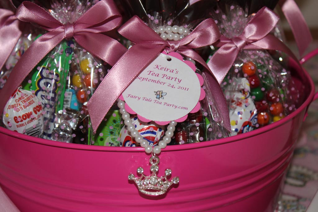 Princess Tea Party Favors