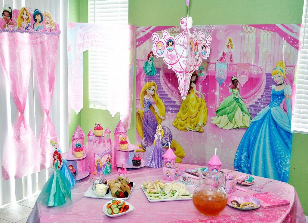 Princess Theme Party Favors