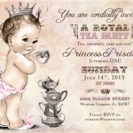 Royal Princess Party Invitations