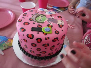 Spa Birthday Party Cake Ideas