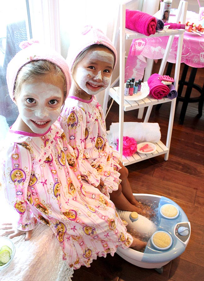 Spa Day Birthday Party Ideas