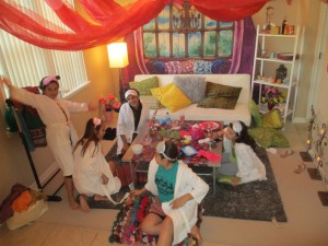 Spa Girl Birthday Party Ideas
