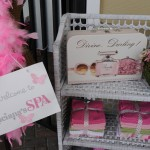 Spa Girls Birthday Party