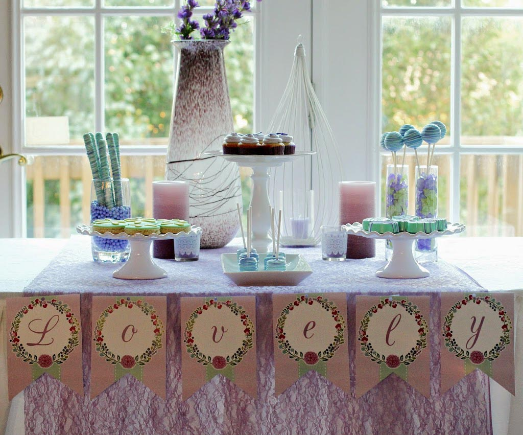 Spa party home party ideas for Home party decorations