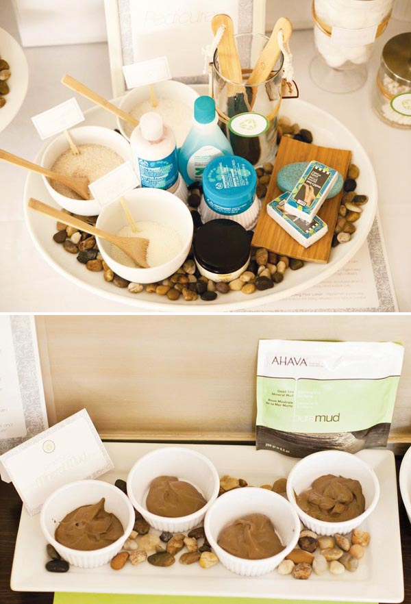 Spa Party Favors for Adults