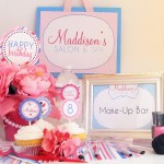 Spa Party Favors for Girls
