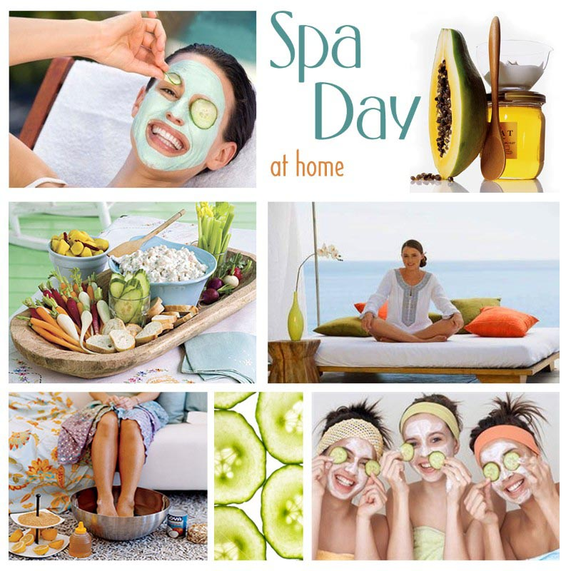 Spa Party Supplies for Tweens