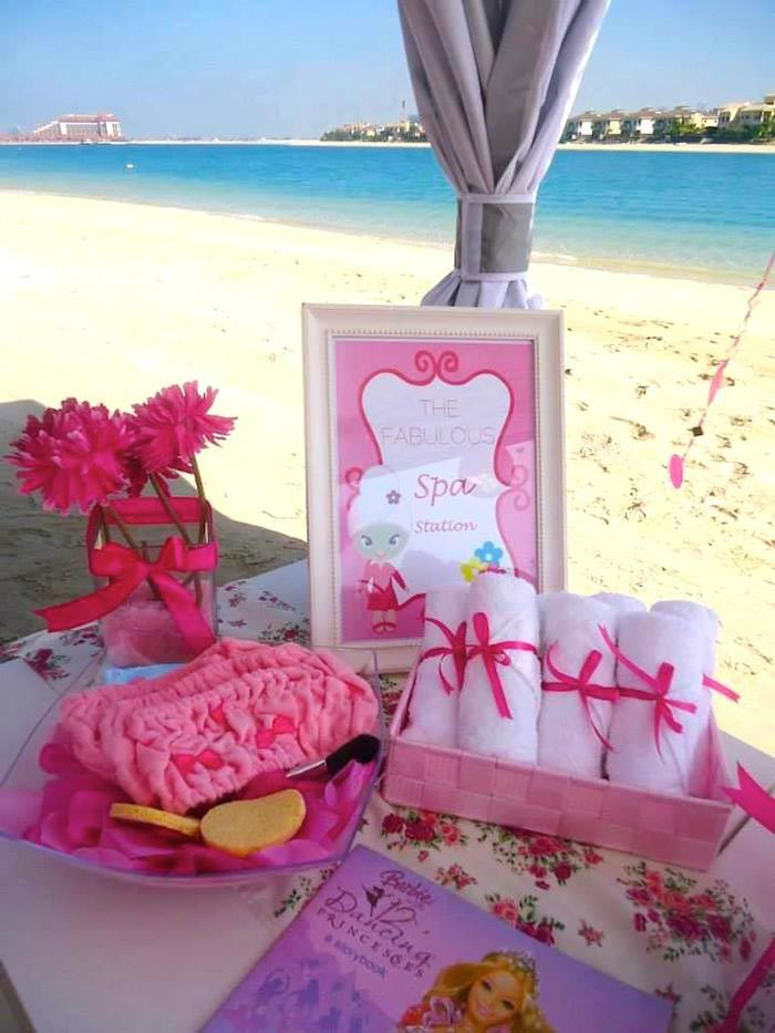 spa themed birthday party supplies home party ideas