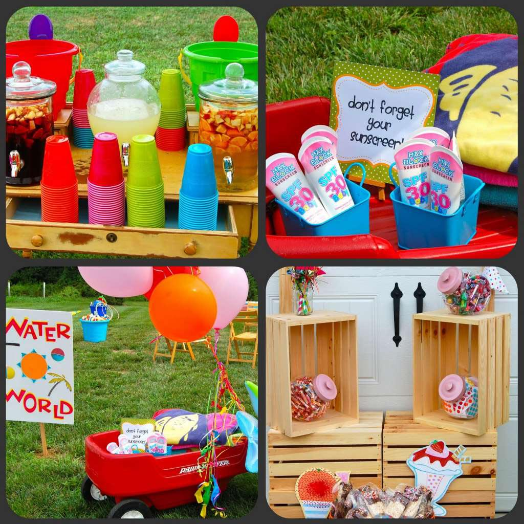 Summer Birthday Party Themes For Kids Home Party Ideas
