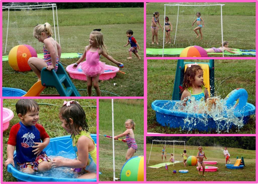 Summer Pool Party Games