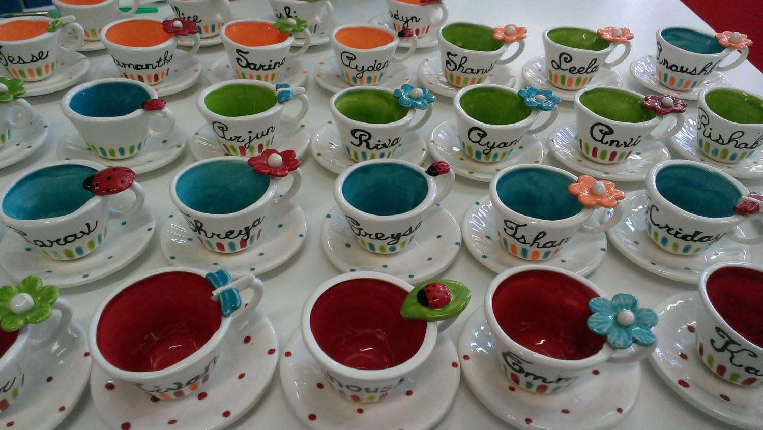 Tea Cups Party Favors