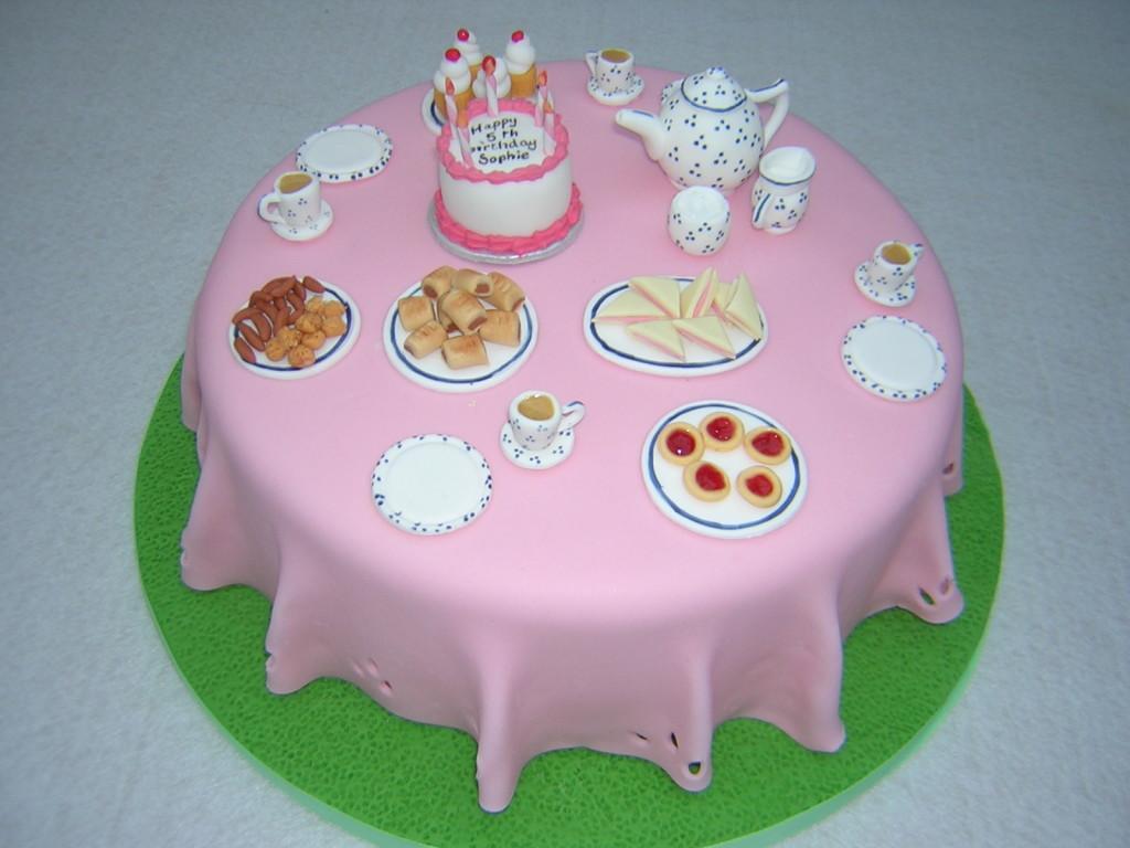 Tea Party Birthday Cakes