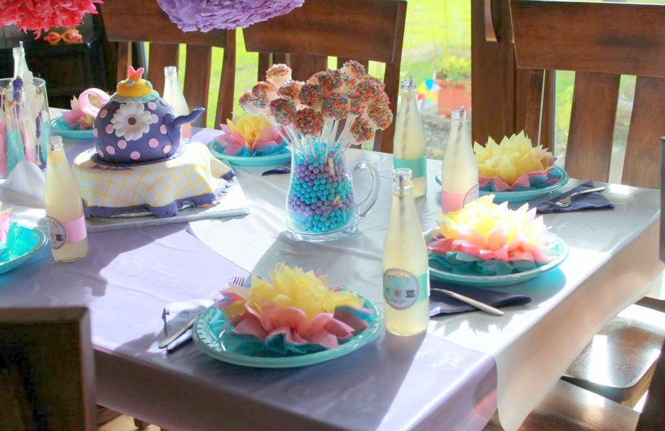 Tea Party Birthday Decorations