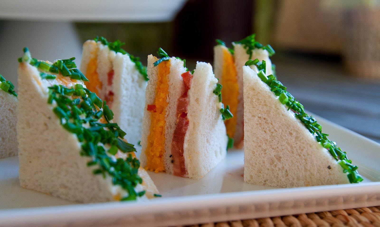 Tea Party Finger Sandwiches