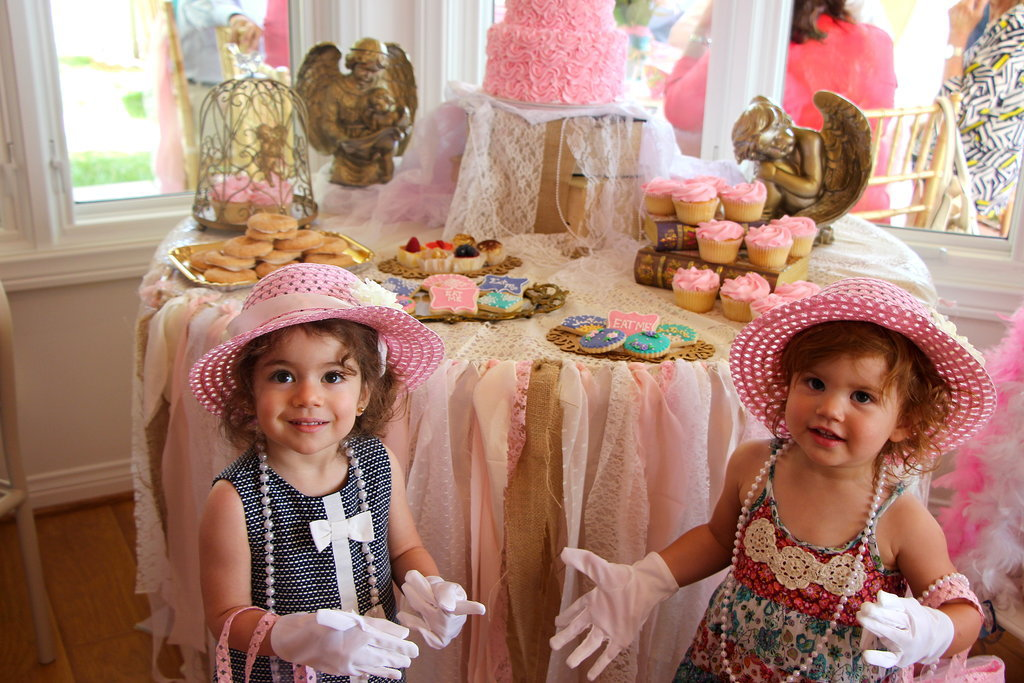 Tea Party Girls Birthday