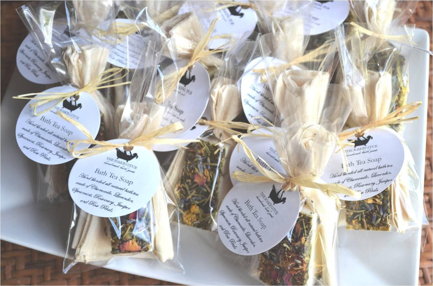 Tea Party Shower Favors