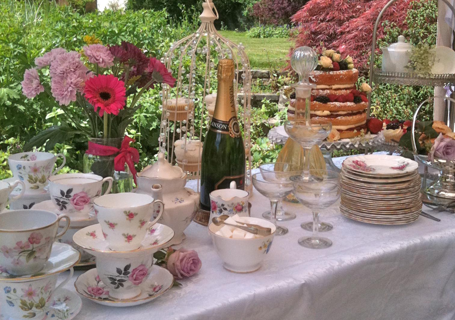 Vintage High Tea Party