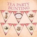 Vintage Tea Party Bunting