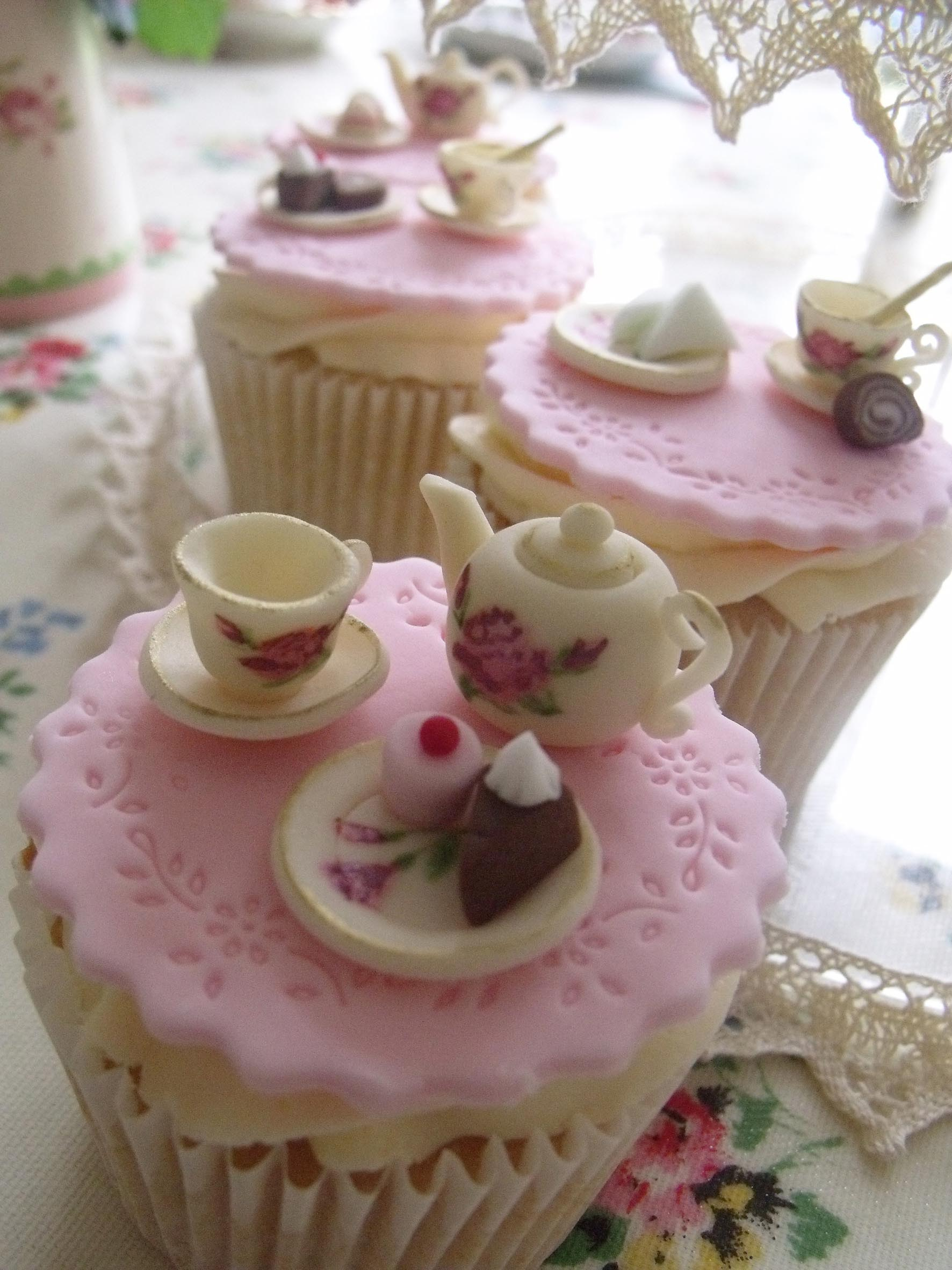 Vintage Tea Party Cake Home Party Ideas