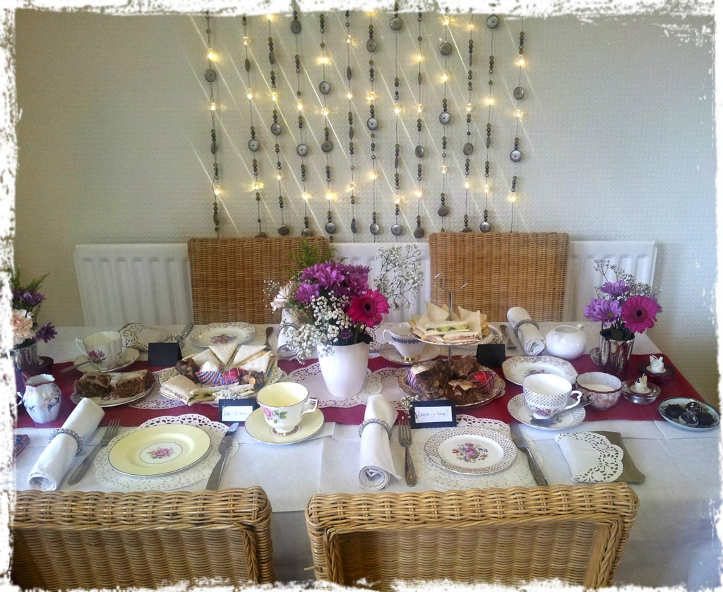 Vintage Tea Party Ideas