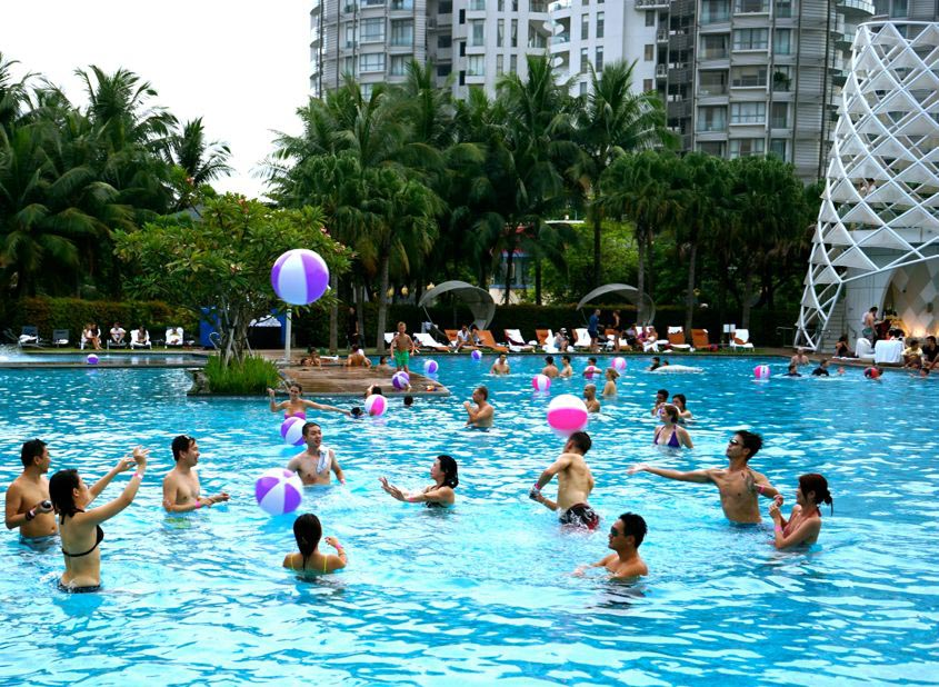 Hotel Pool Party Ideas throw a new years bash in a hotel where kids can enjoy a pool party followed by a night of hotel room fun that includes things like room service Best Pool Party Games