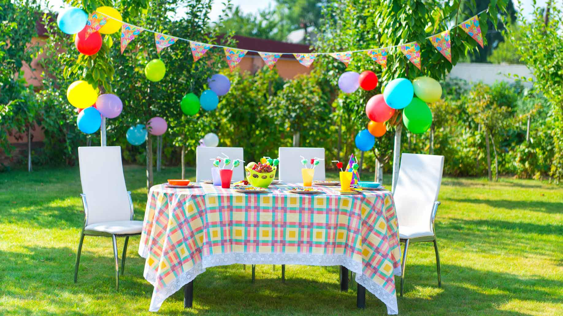 Birthday Party Games Outdoors