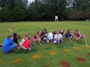 Child Party Games Outdoor