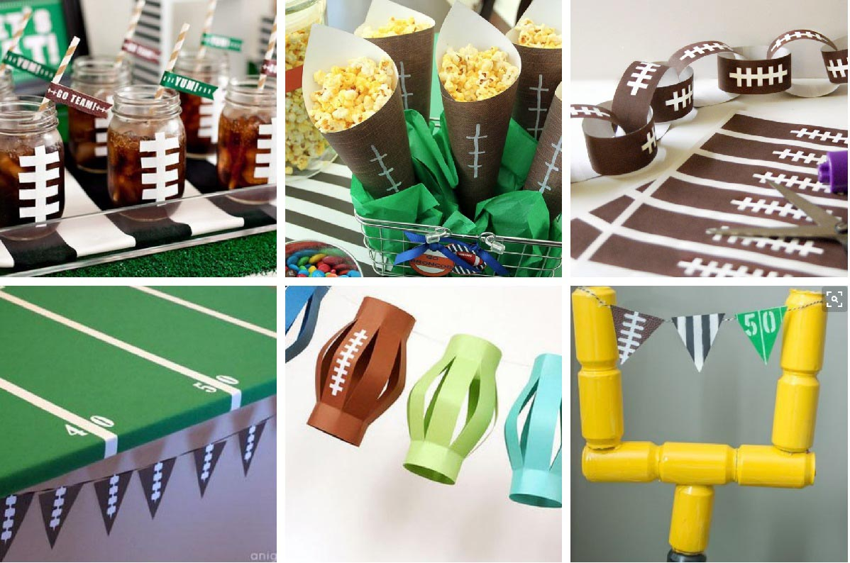Easy super bowl party games home party ideas for All decoration games