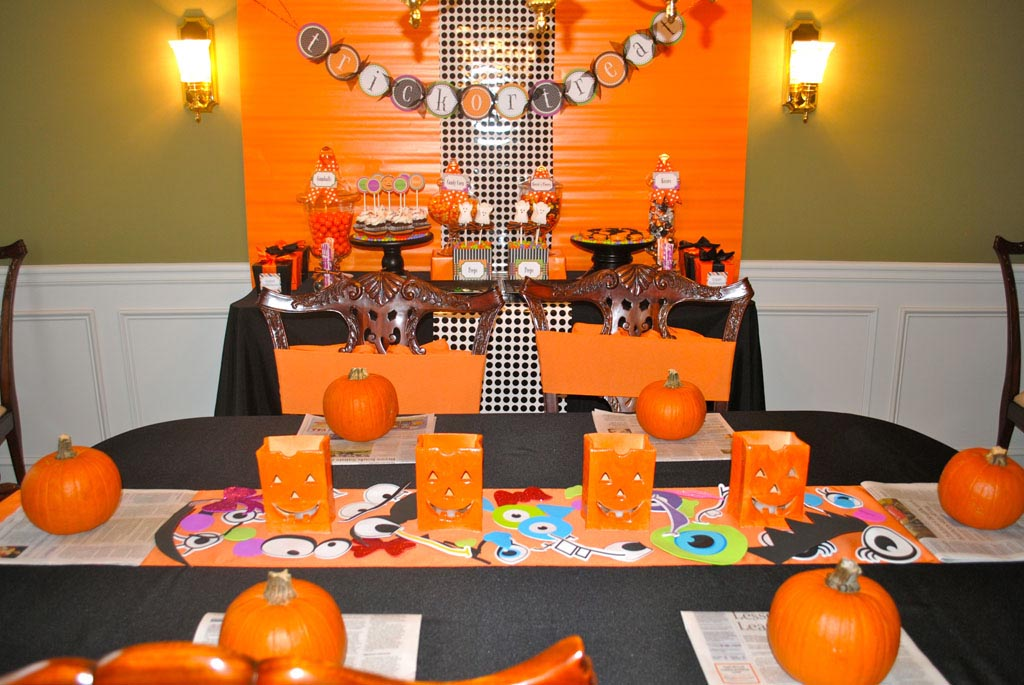 Halloween games toddlers party home party ideas for Halloween decorations to make at home for kids