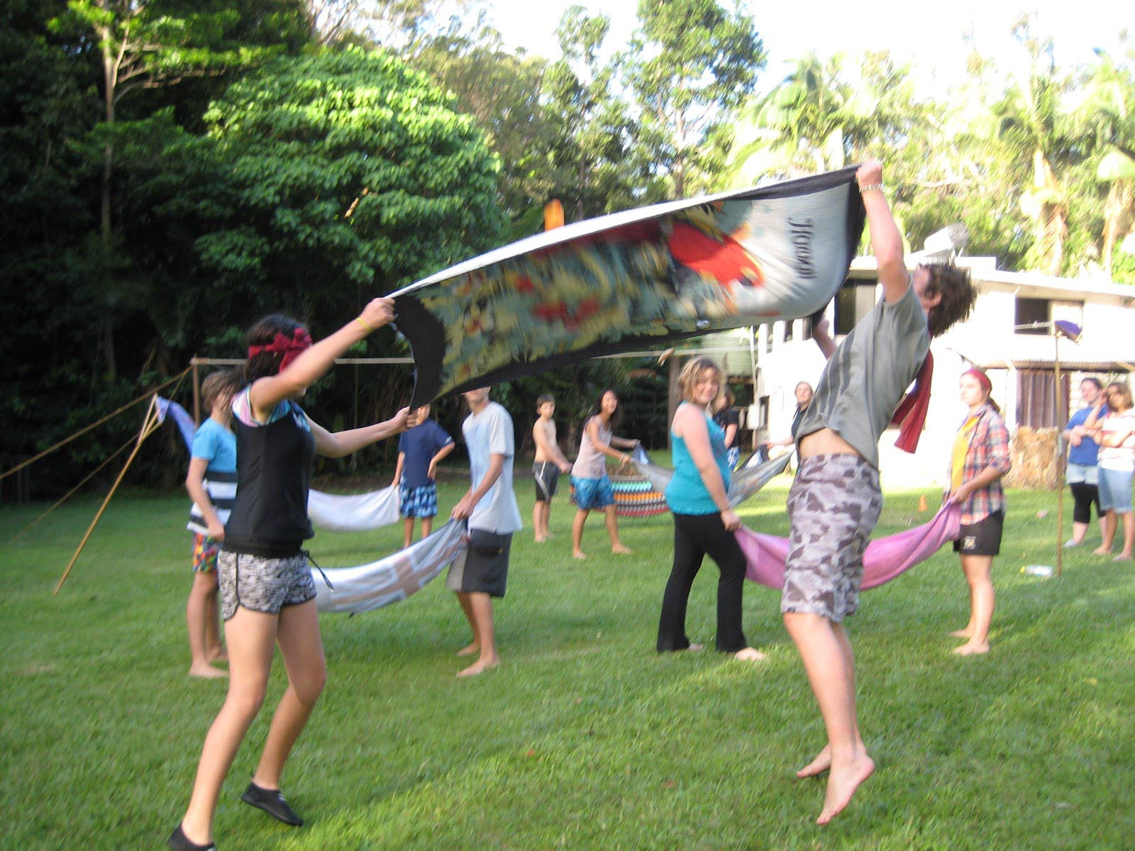 Outdoor Office Party Games