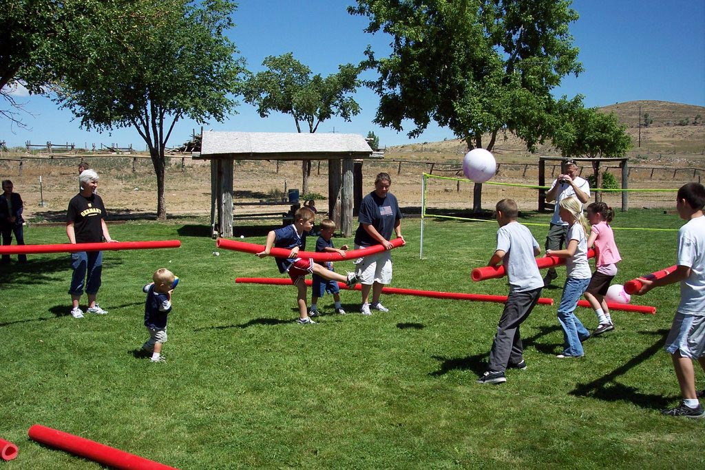 Preschool Outdoor Party Games