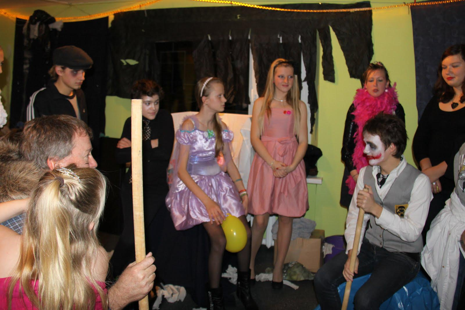 Teenage Halloween Party Games