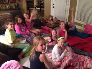 Teenage Slumber Party Games