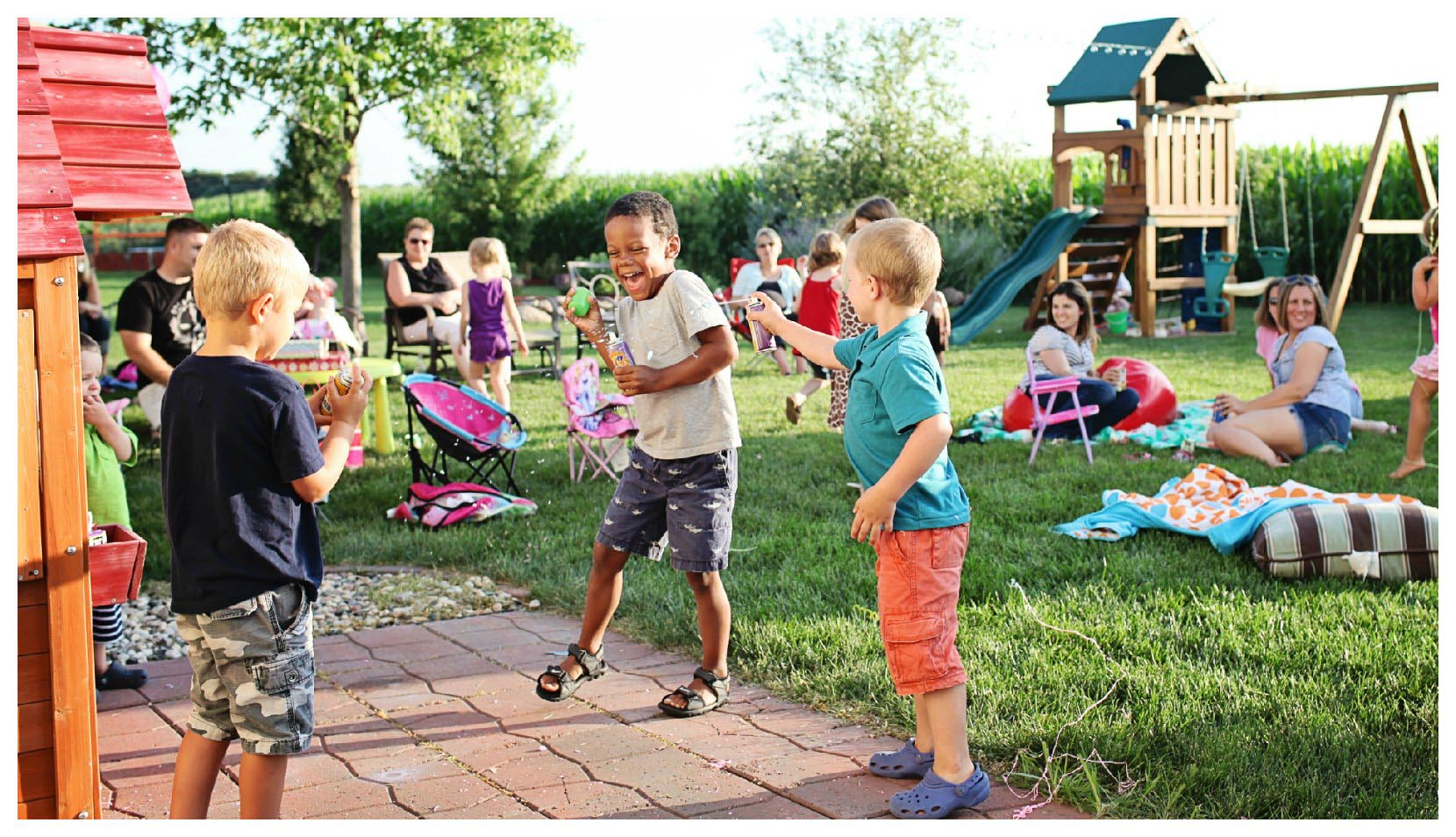 Toddler Party Games Outdoors
