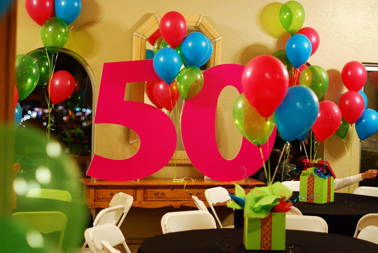ideas for 50th birthday party at home decorating ideas