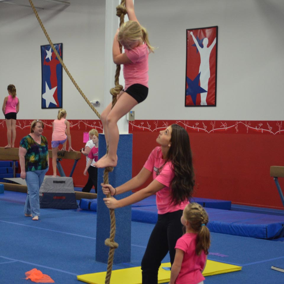 All American Gymnastics Birthday Parties
