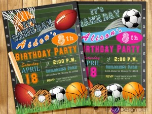 All Sports Birthday Party Supplies