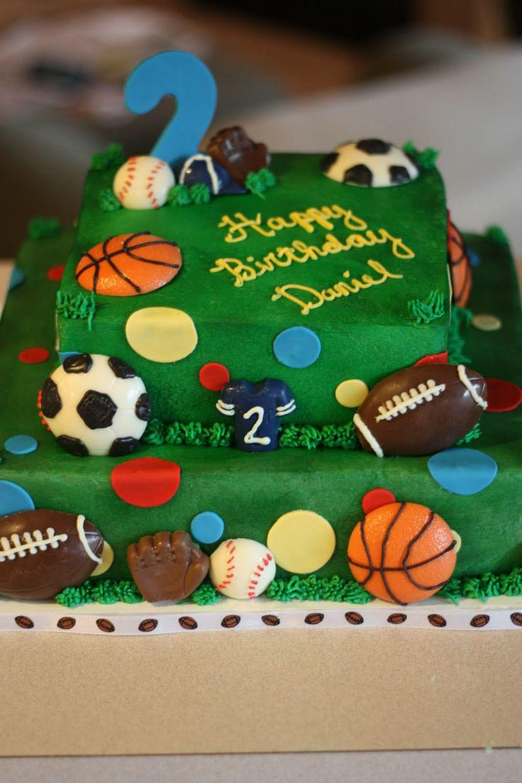 All Sports Themed Birthday Party