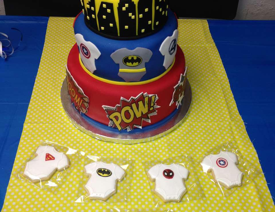 Baby Superheroes Birthday Party
