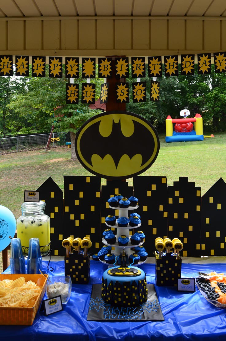 Batman Birthday Party Activities