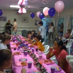 Birthday Party at Gymnastics Place