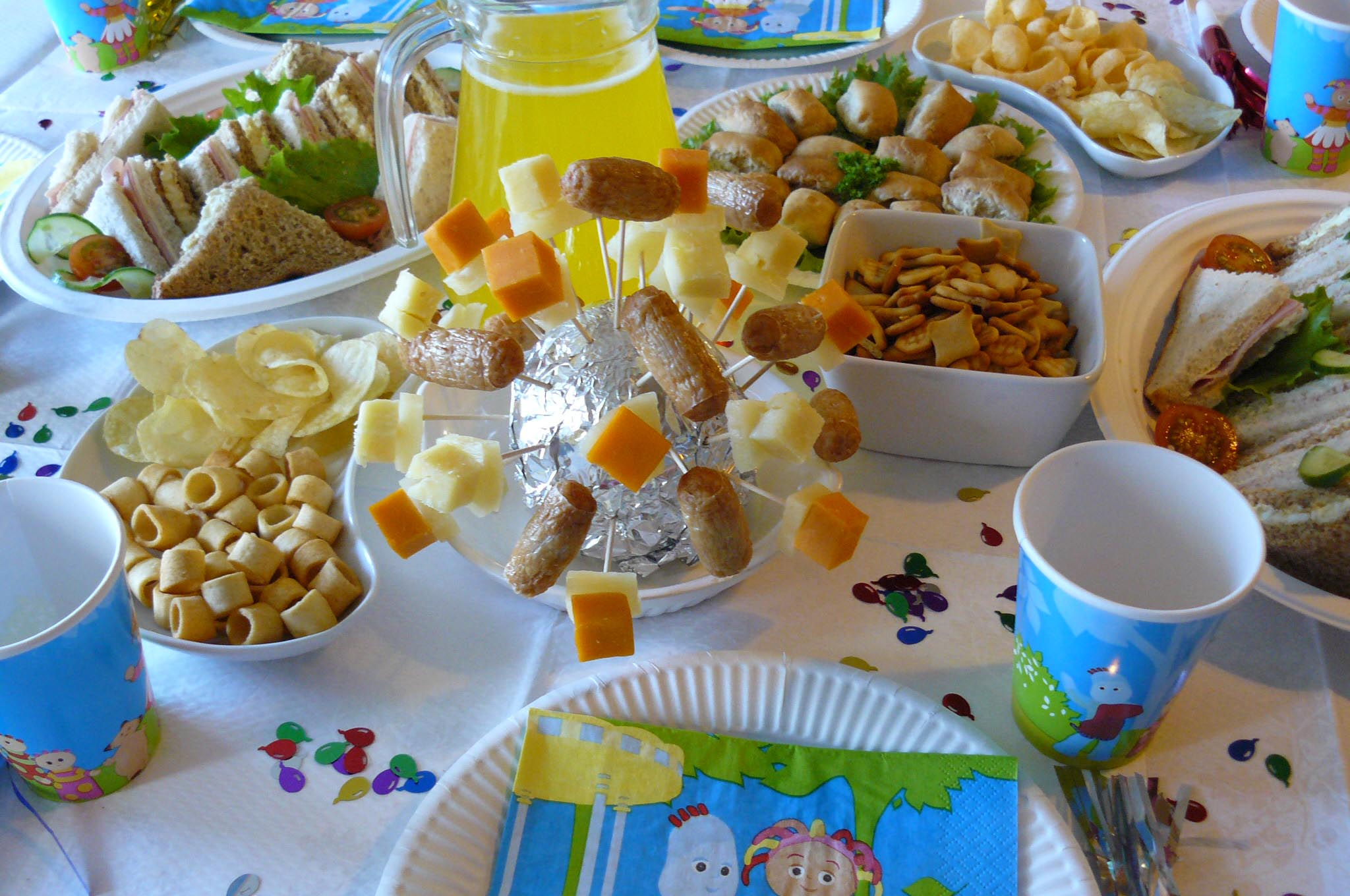 Birthday Party Foods for Toddlers