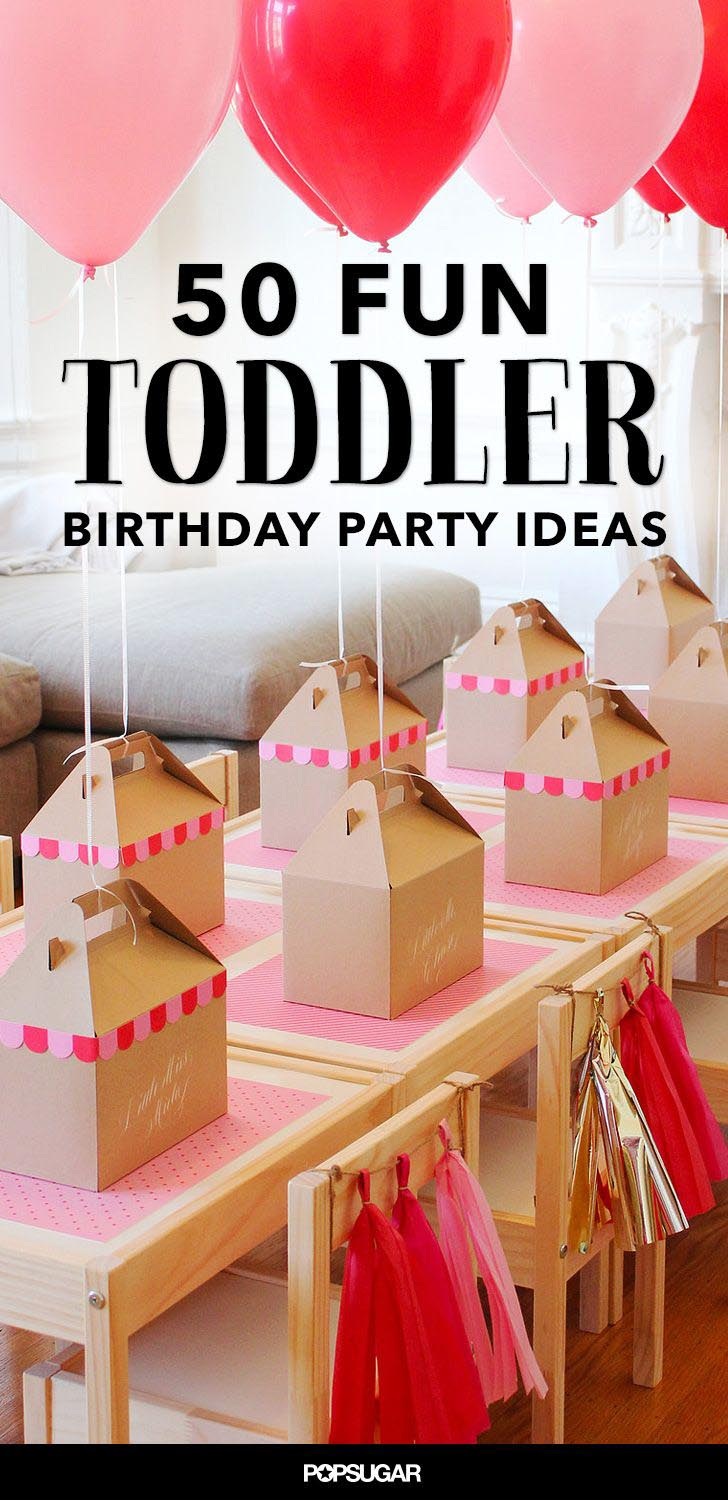 Birthday Party Ideas for Toddler Girl