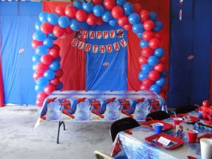 Birthday Party Ideas Spiderman