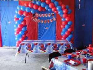 Birthday Party Ideas Spiderman