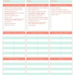 Birthday Party Planner Template Free