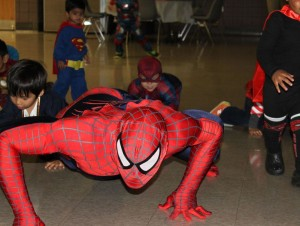 Birthday Party Spiderman Entertainment